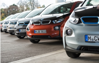 BMW i3 electric vehicles
