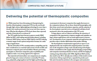 Delivering the potential of thermoplastic composites